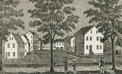 A Shaker village in Connecticut