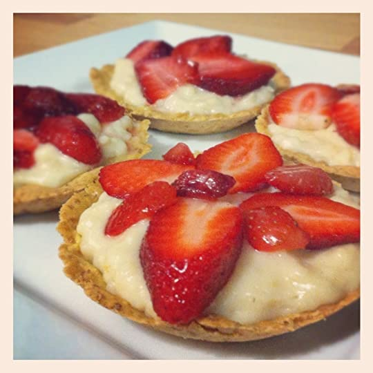 Strawberry tart things