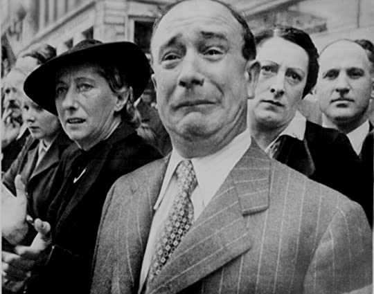 Frenchman crying - June, 1940