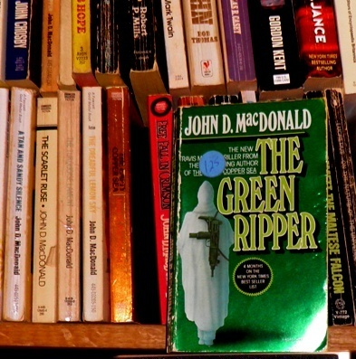 pic of my copy of THE GREEN RIPPER