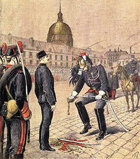 He forges the document that implicated Dreyfus in the famous affair.