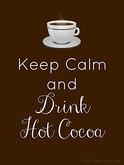 Love Bakes Good Cakes: Drink Coffee or Hot Cocoa printable (8x10)