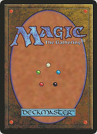Magic Card - Rear