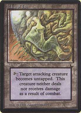 Magic Card - Maze of Ith