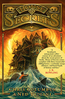 House of Secrets Cover with JKR Quote