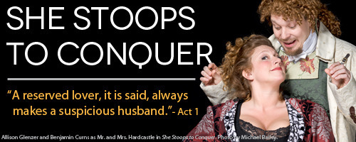 American Shakespeare Center's She Stoops to Conquer