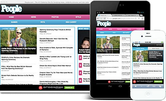 The new responsive website for m.people.com