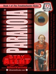 PARANOIA T1 Stay Alert by Allen Varney