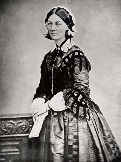 By not listed [Public domain], via Wikimedia Commons. Florence Nightingale