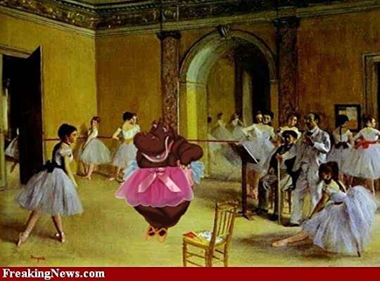 ballet with hippo