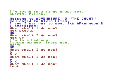 The Count Screen Shot