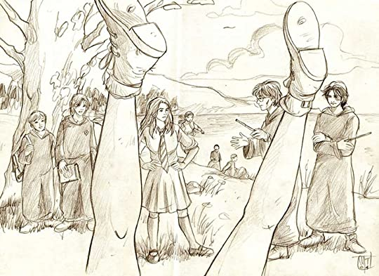 Flashback Scene in Order of the Phoenix. I used to love these pictures when I was reading the books.