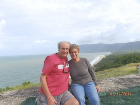 Returning to Cairns on the James Cook Highway