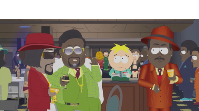 Butters at Pimp Convention