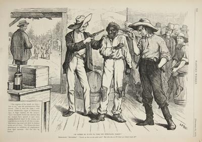 Of course he wants to vote the democratic ticket 1876