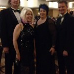 Eric, Sally, Lynne and Jeff all dressed up for the Stokers.