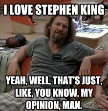 I need to know all the non-fiction works of stephen king....?