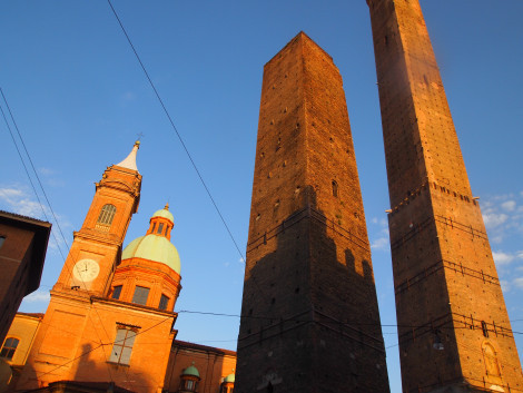 Dueling towers