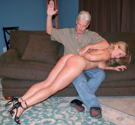 He spanked his wife several times