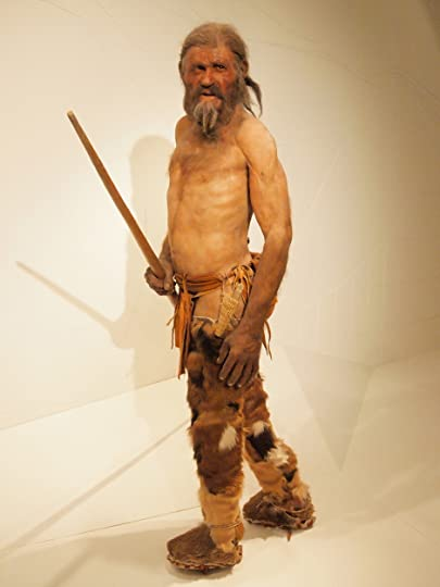 Otzi, rugged and lean, but hard muscled from lifetime of hiking in the alps