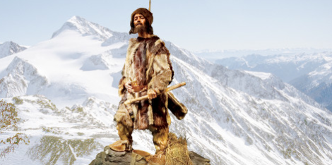 How Otzi might have appeared on his last hike across the alps 5500 years ago