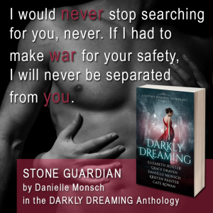 Darkly Dreaming quote by Danielle Monsch