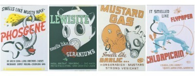 WWII Gas Identification Posters