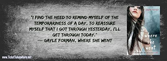 Where She Went Quote