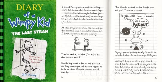 Dairy Of A Wimpy Kids Book