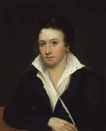 Portrait of Percy Shelley