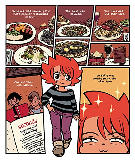 Character Design Graphic Novels : Seconds by bryan lee o malley — reviews discussion