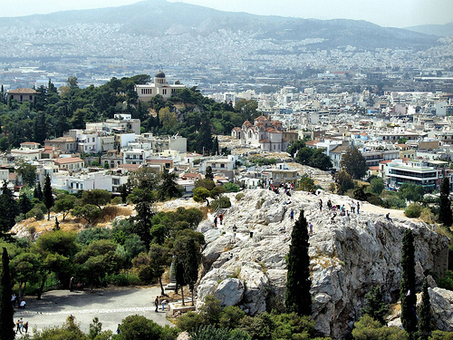 Rock of Ares – Athens