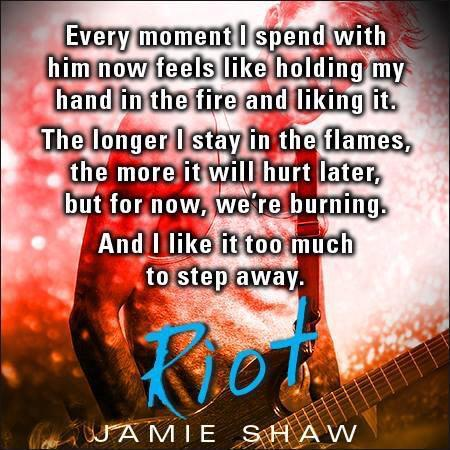 Image result for Riot by Jamie Shaw