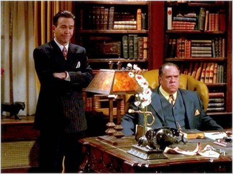 Nero Wolfe and Archie Goodwin