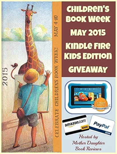 Children's Book Week Kindle Kids Edition Giveaway 2015