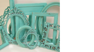 Find amazing frames at your local thrift store.