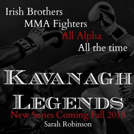 Becoming a Legend (Kavanagh Legends #3) by Sarah Robinson