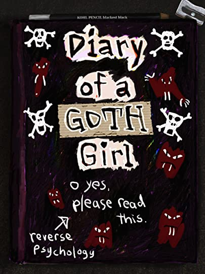 Dairy of a Goth Girl--Cover