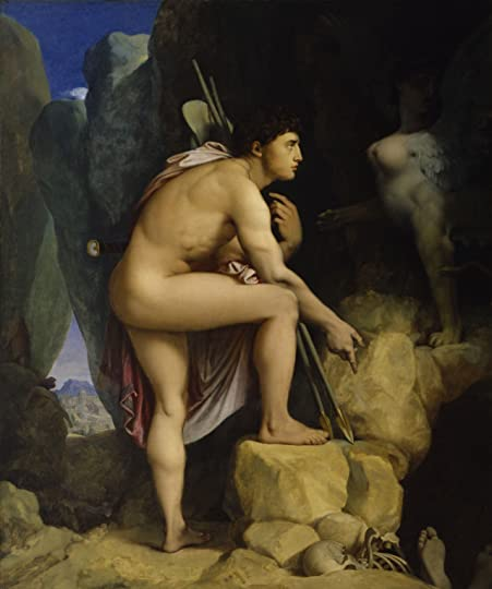 Jean Auguste Dominique Ingres Oedipus and the