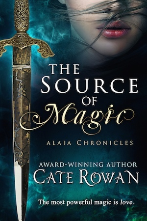 Book cover for The Source of Magic: A Fantasy Romance