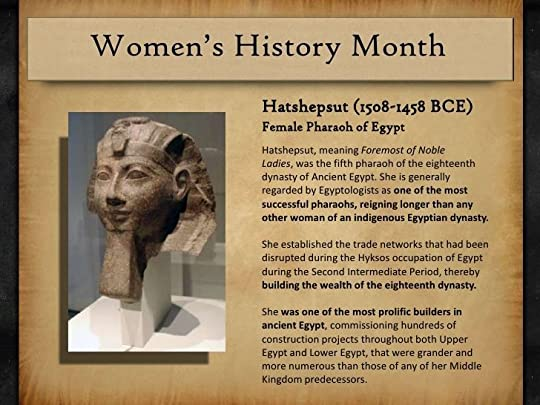 an introduction to the history of hatshepsut the first female pharaoh of egypt Pertaining to the latter part, researchers have found evidence regarding the portrayal of queen hatshepsut – egypt's first female pharaoh, on some stone blocks situated on.