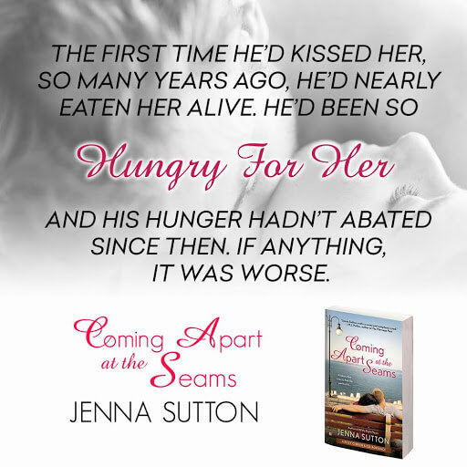 Coming Apart at the Seams by Jenna Sutton Teaser
