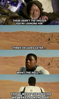 Those were the droids
