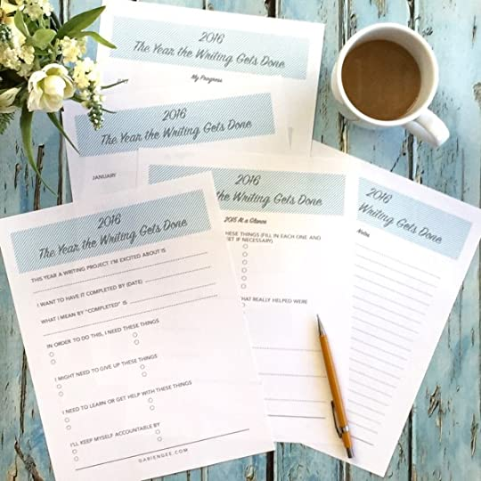 Free 2016 Goal Worksheets and Planners ♥ http://www.dariengee.com