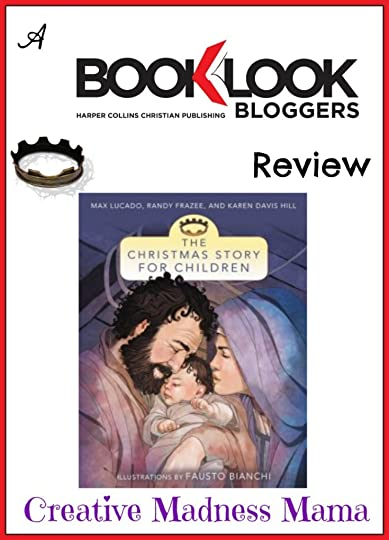 The Christmas Story for Children book review from Creative Madness Mama