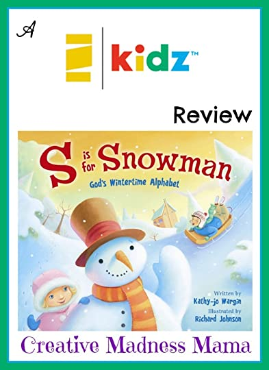 S is for Snowman is the perfect winter weather read for preschool or K-2 students! #childrensbook #winter @Zonderkidz