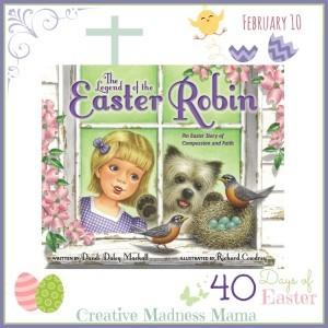 40 Days of Lenten and Easter books Day 1