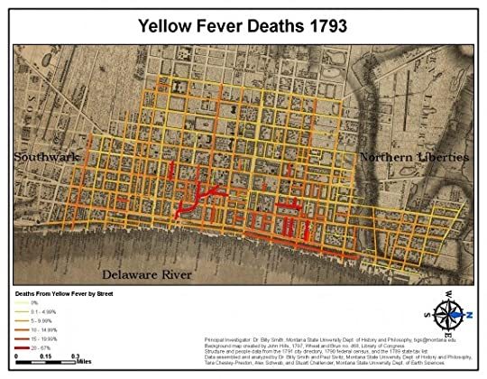 Map of Phil. Yellow Fever Outbreak
