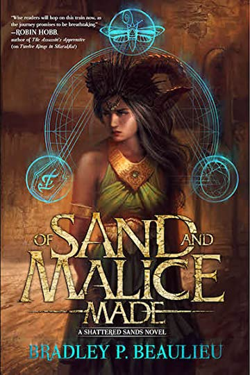 Of Sand and Malice Made-med