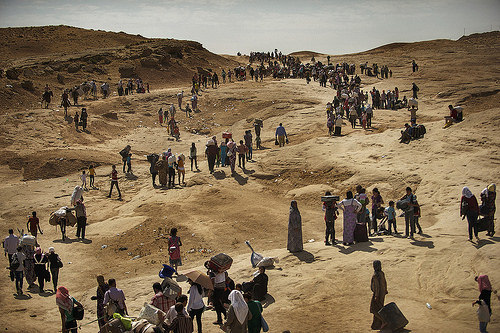 Syrian Refugees;northern iraq